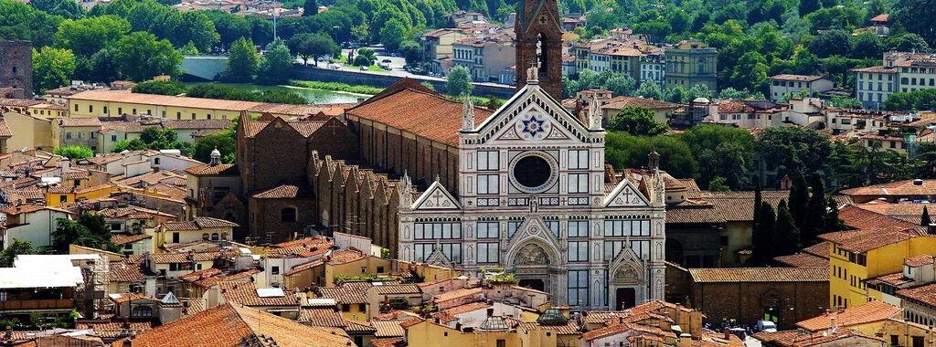 The Basilica Di Santa Croce And Its Masterpieces