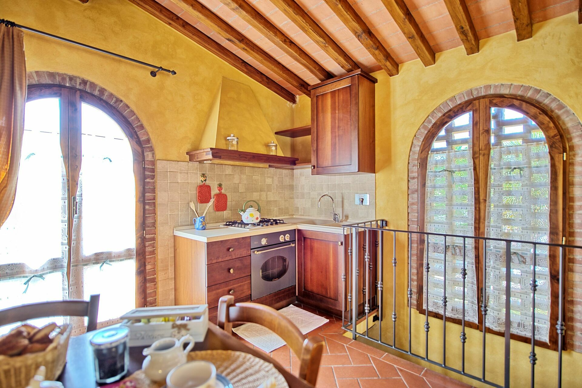 Holiday Apartment Casa Rossa 3 At Casa Rossa In Gorgognano Tuscany 4 Sleeps In 1 Bedrooms