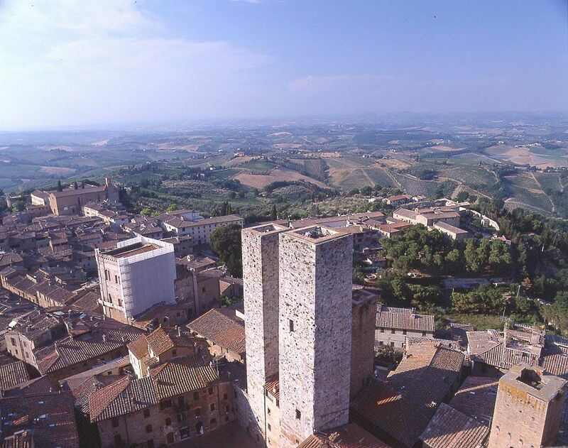 San Gimignano Tower-Torre