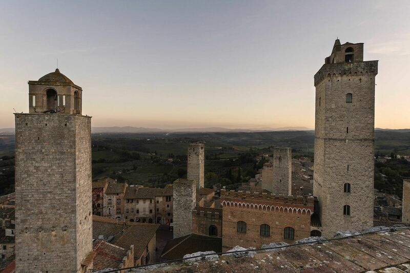 San Gimignano Tower-Studio