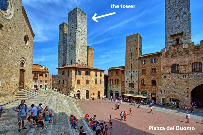 San Gimignano Tower-Torre