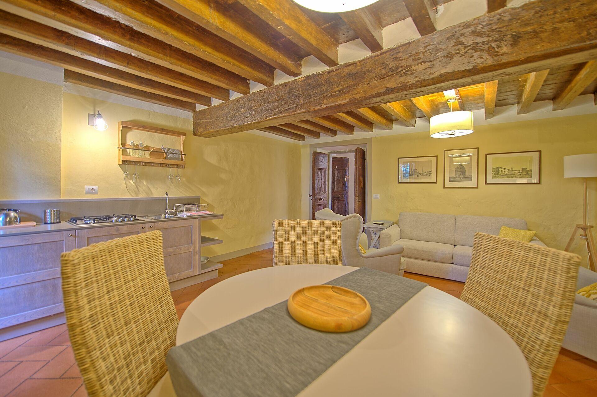 Letto A Castello Toscana.Montegufoni 13 Esclusivo Alloggio In Affitto Nel Castello Di