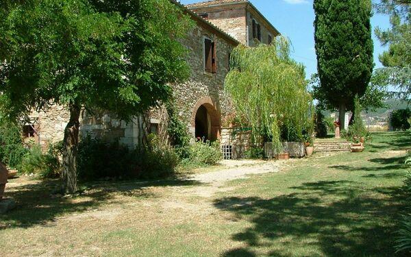 the medieval farmhouse