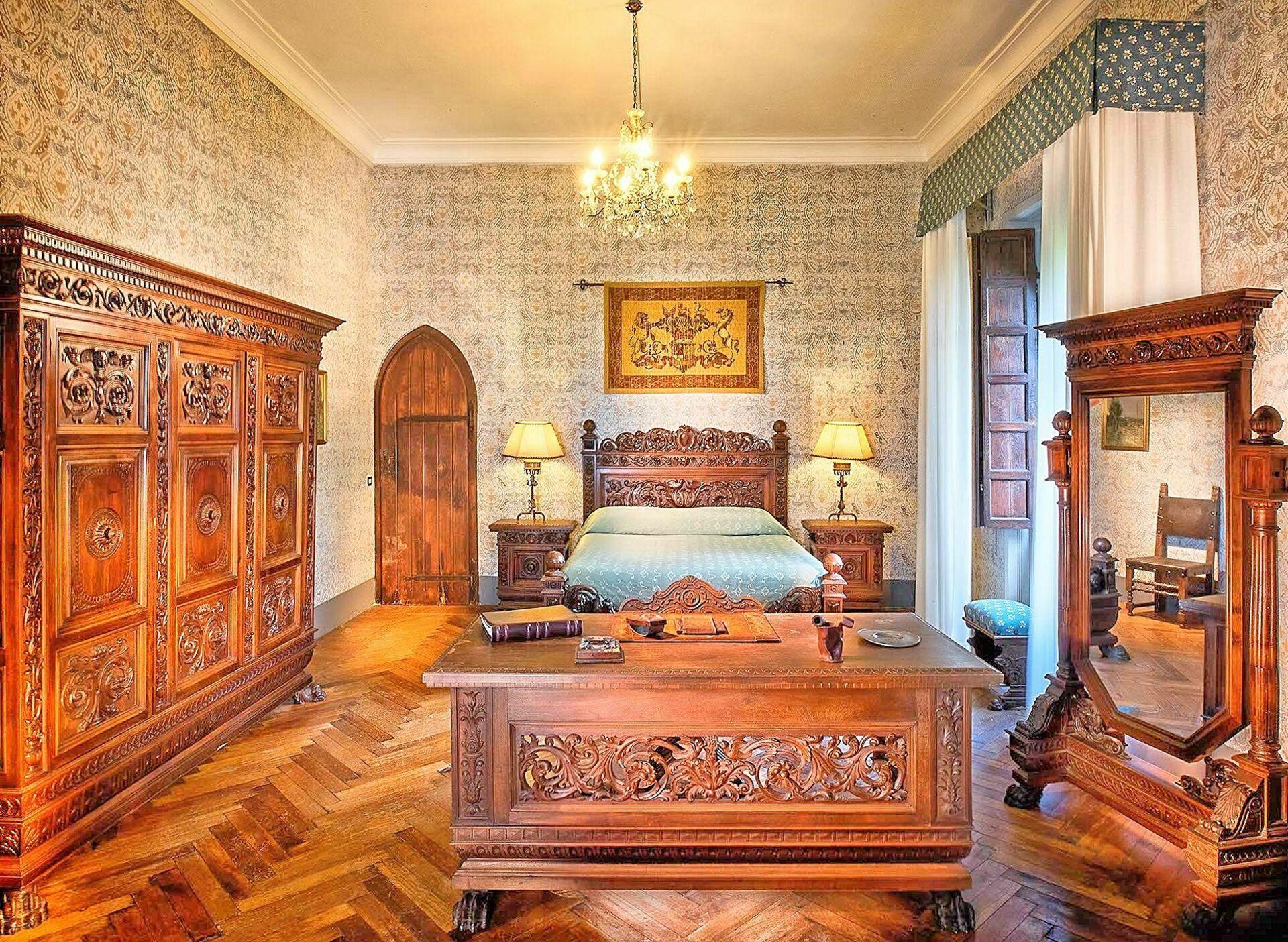 Letto A Castello Twins.Borgia Castle Castello Vacanza A Passignano Sul Trasimeno Umbria