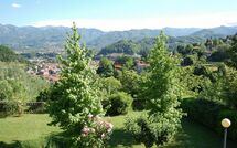 Panoramic view from our terrace