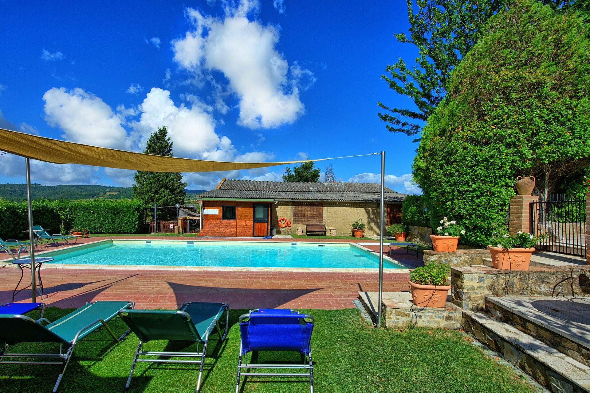 Vakantiehuis 7 Slaapkamers : Cerretalta vakantiehuis in san quirico d orcia toscane voor