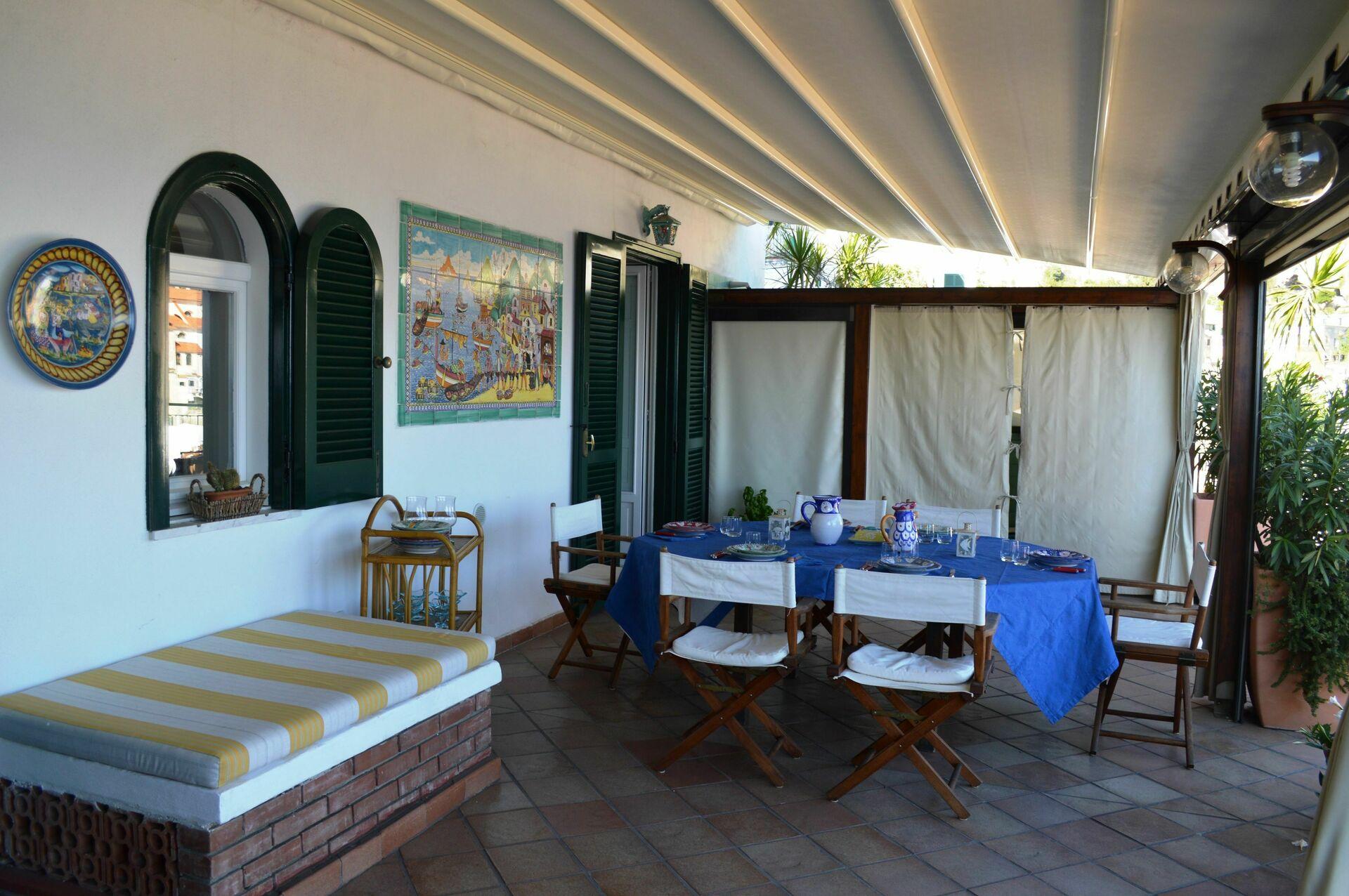 La terrazza di atrani seaside villa rental in atrani amalfi coast vacation rental by the sea - Villa la terrazza ...