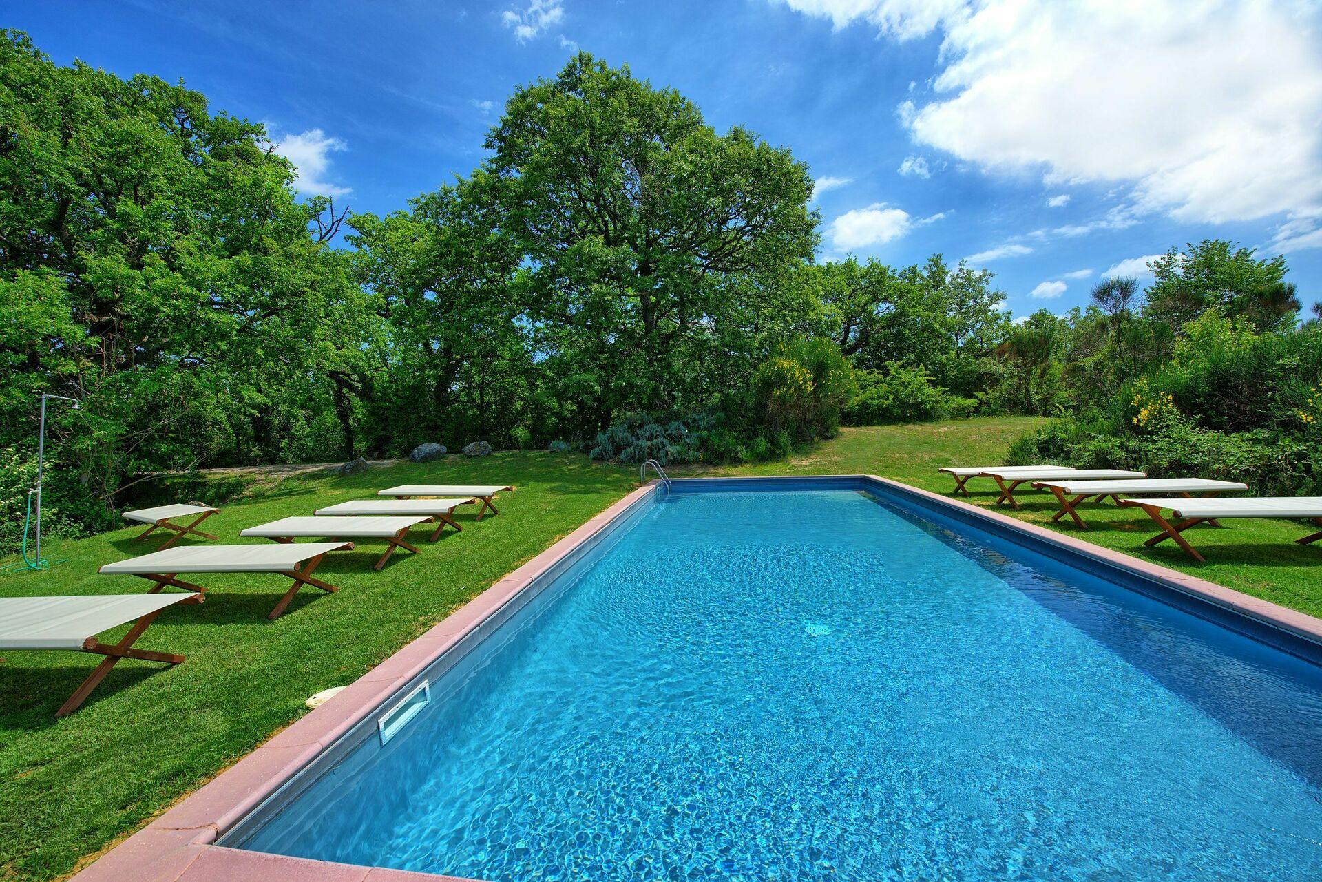 Villa Cerchiaia, Vakantiehuis in Spineta, Toscane voor 16 personen ...