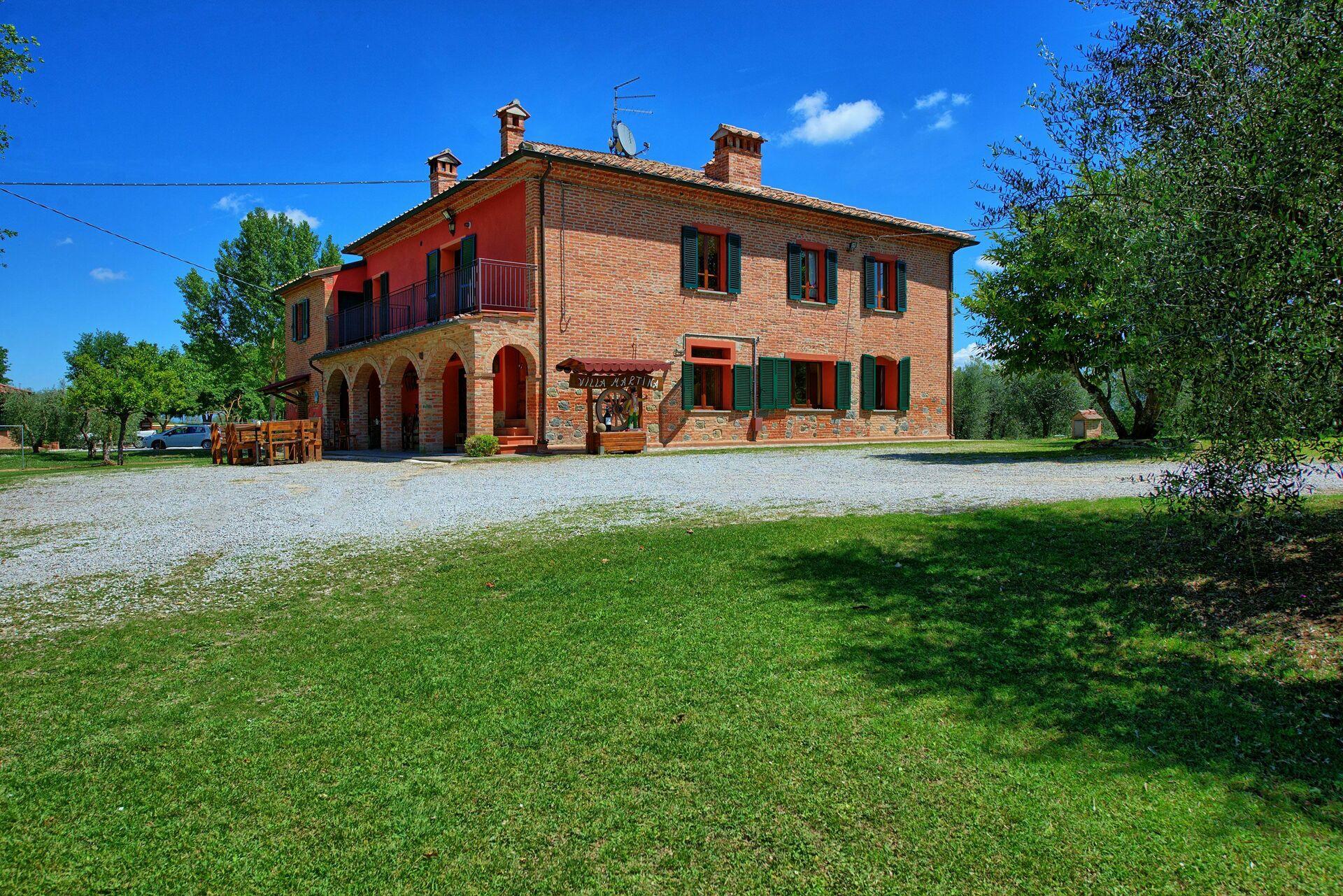 Villa Mario, Vakantiehuis in Abbadia Di Montepulciano, Toscane voor ...