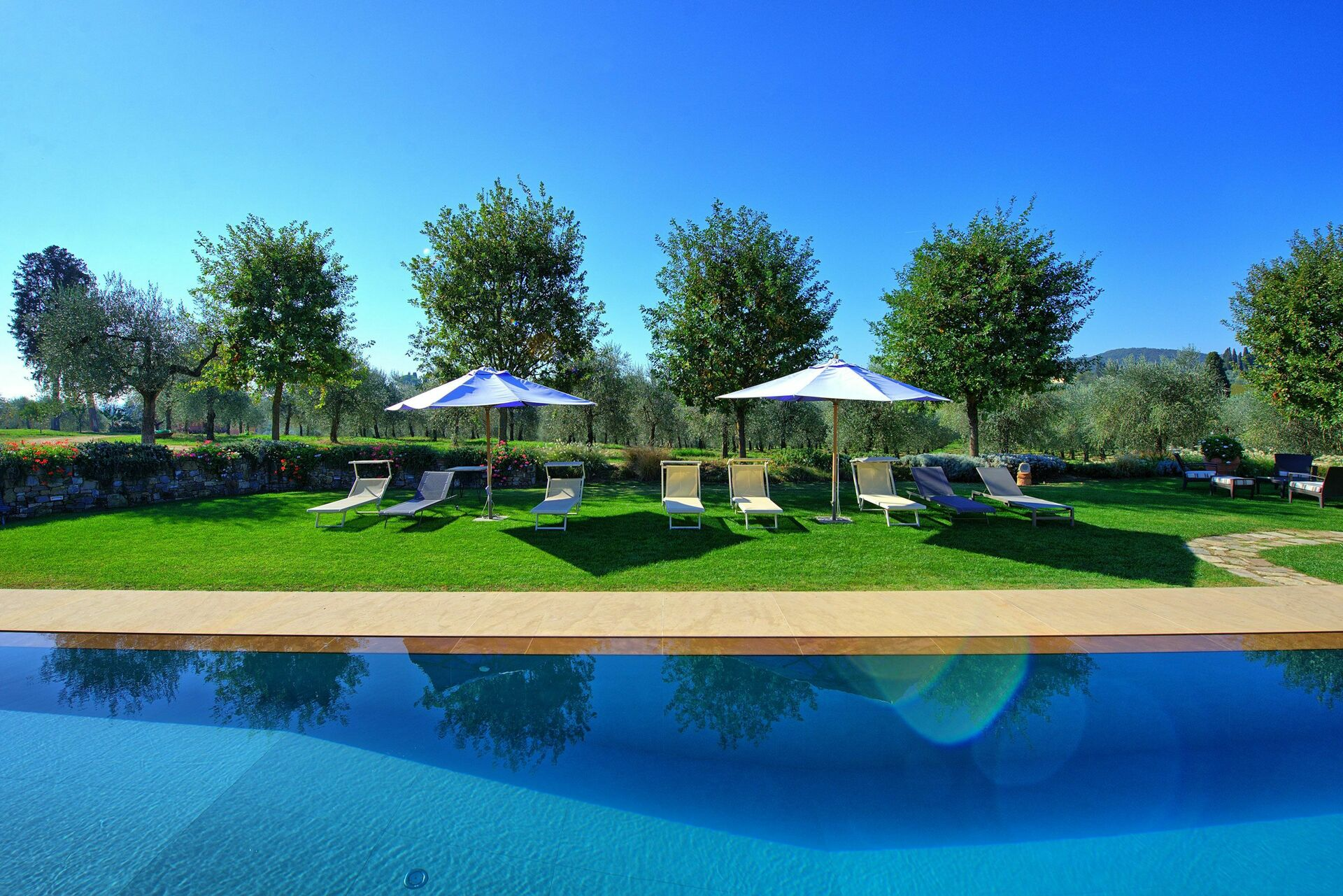 Villa Colleramole, Luxus Ferienhaus in Certosa Toskana - 6 Schlafplätze und  3 Schlafzimmer - Luxus Ferienhaus in Certosa Italien