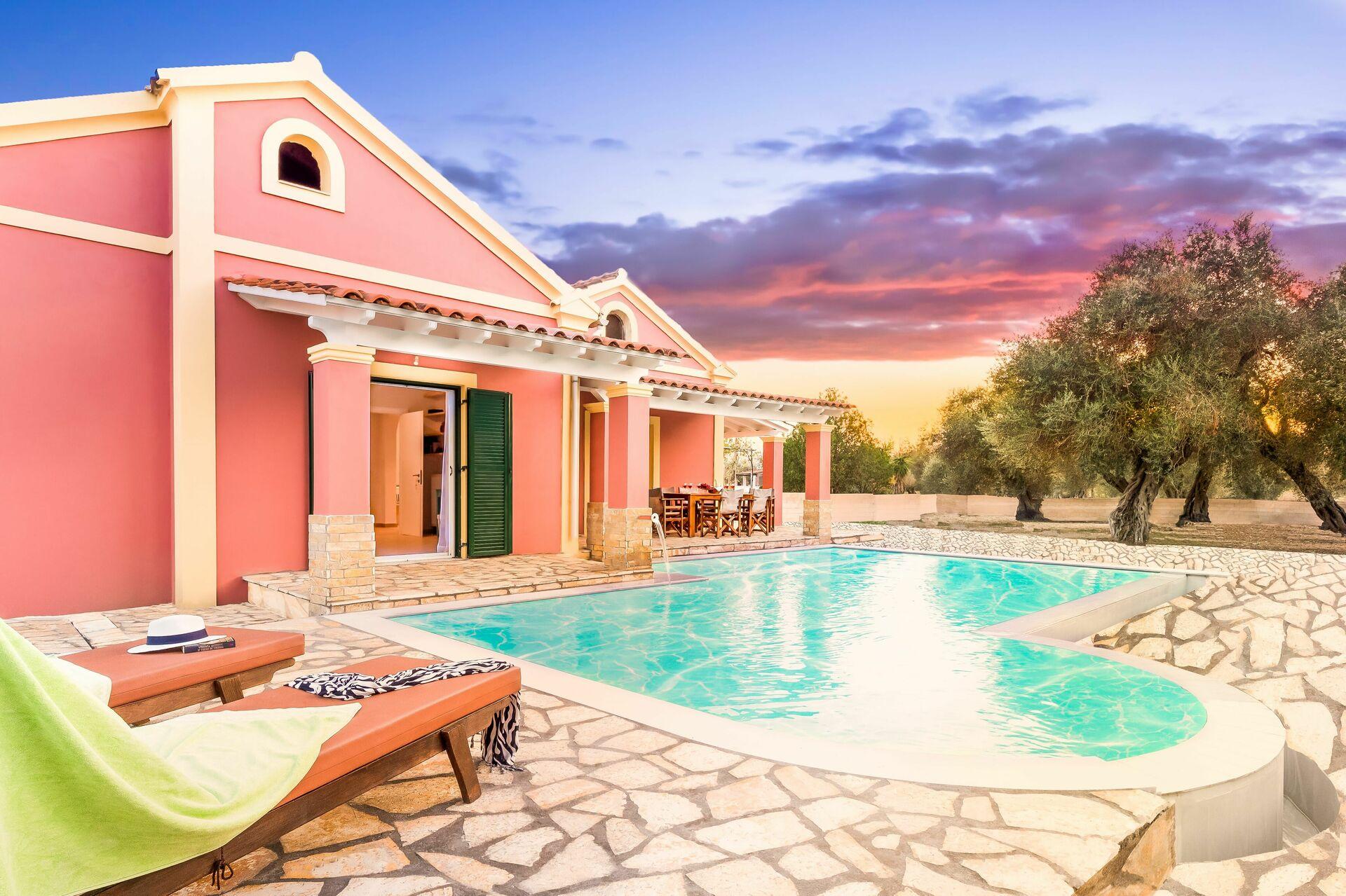 Beach Villa Joanna, Luxus Ferienhaus in Acharávi Ionische Inseln - 8 ...