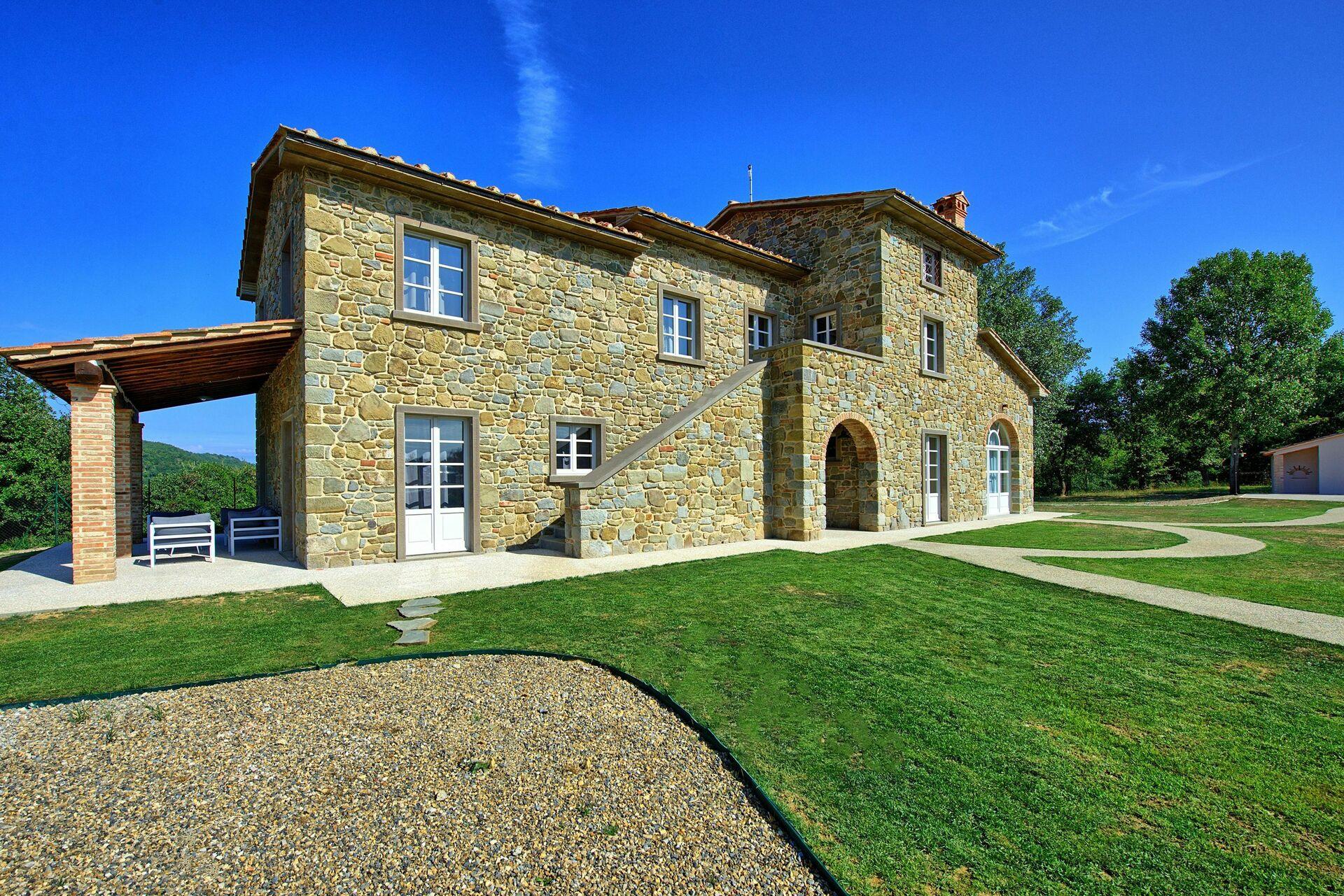 Villa giacomo luxe vakantiehuis in castiglion fiorentino toscane