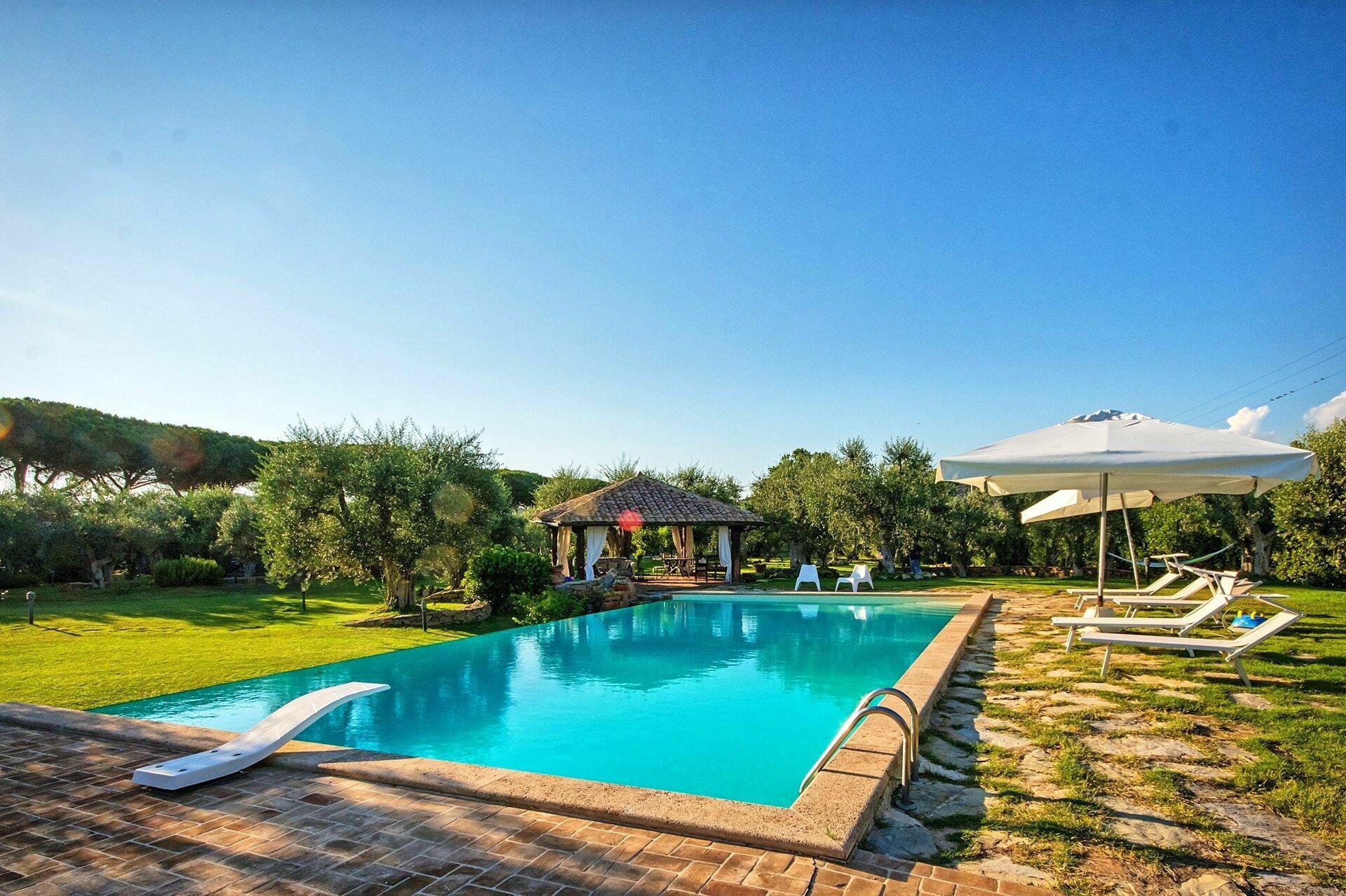 Villa Capalbio Villa Per Vacanze In Affitto A Capalbio Maremma Toscana 12 Posti In 5 Camere Da Letto Casa Vacanze A Capalbio Maremma Toscana