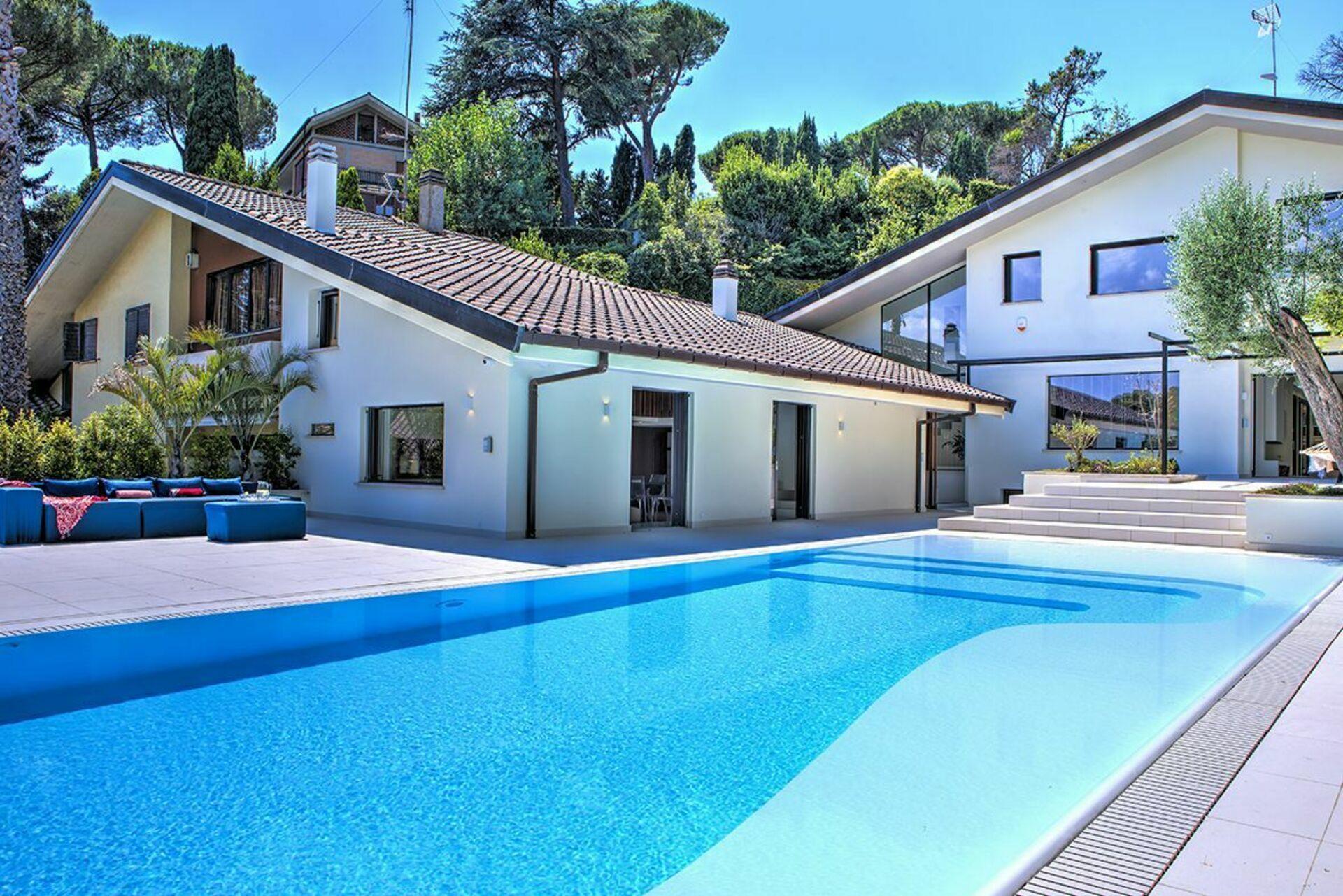Villa Romana, Luxus Ferienhaus in Rom, Italien - 10 ...